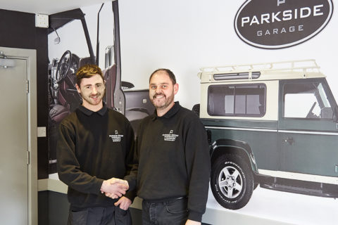 Parkside Garage Team Grows