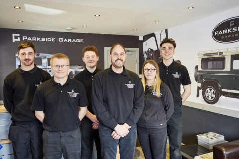 Brand New Parkside Garage Website